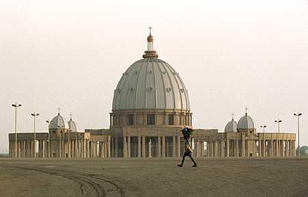 Basilique de Notre Dame de la Paix de Yamoussoukro
