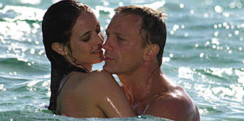 Eva Green and Daniel Craig in Casino Royale 2006