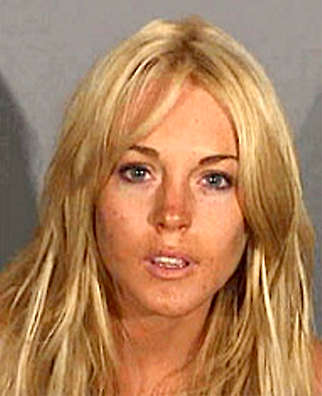 Lohan sentenced. Lindsay Lohan Sentenced One