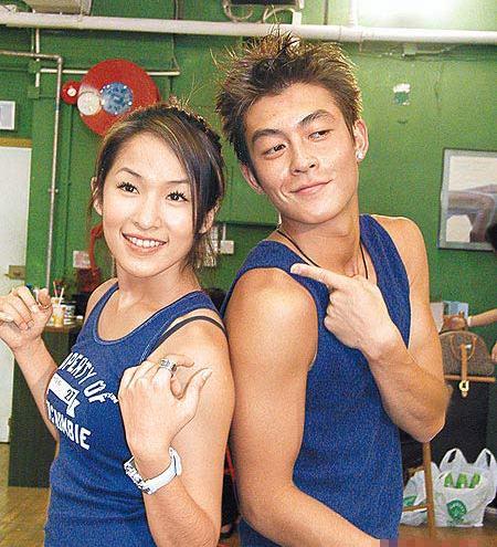 Elva Hsiao and Edison Chen