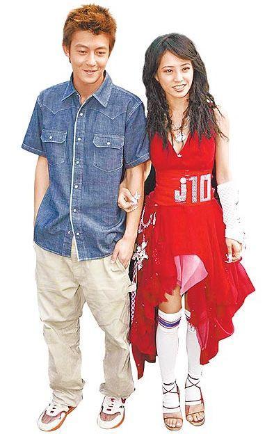 Jolin Tsai with Edison Chen