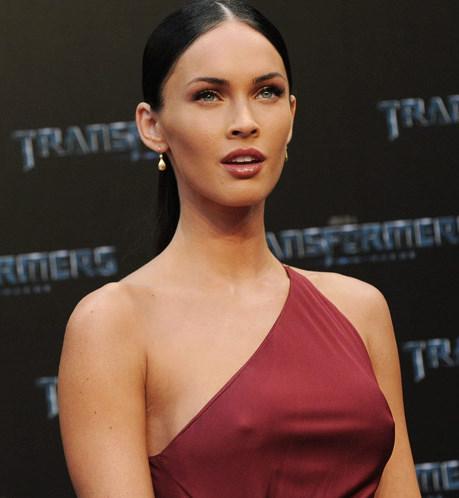 megan fox transformers 2 premiere red dress. Megan Fox in Red Sexy Dress at