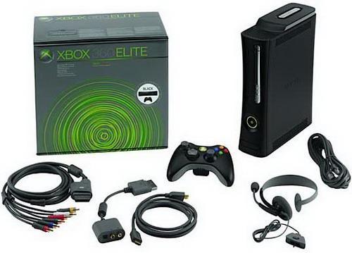 microsotf xbox 360 elite